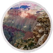 Canyon View X Round Beach Towel