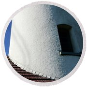 Cape Blanco Detail Round Beach Towel