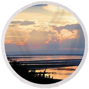 Cape Cod Beach Brewster Round Beach Towel