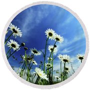 Cape Cod Summer Round Beach Towel