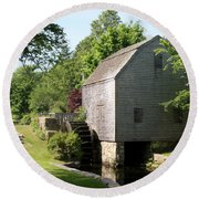 Cape Cod Water Mill Round Beach Towel