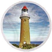 Cape Du Couedic Light House Round Beach Towel