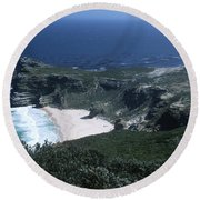 Cape Of Good Hope - Africa Round Beach Towel
