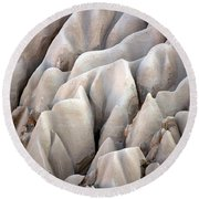 Cappadocia Rocks Round Beach Towel by RicardMN Photography