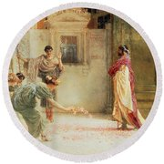 Caracalla Round Beach Towel by Sir Lawrence Alma-Tadema