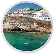 Carvoeiro Panorama Round Beach Towel