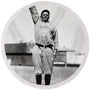 Casey Stengel (1891-1975) Round Beach Towel
