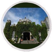 Castle Entry Round Beach Towel