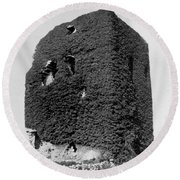 Castle Of The O Briens - Ruins - Near Galway Ireland - C 1901 Round Beach Towel