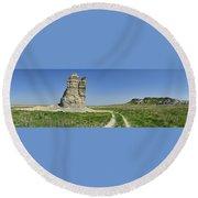 Castle Rock Round Beach Towel