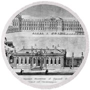 Catherine Palace, 1761 Round Beach Towel