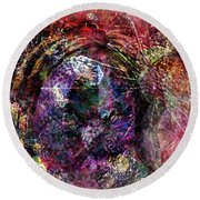 Cell Dreaming 1 Round Beach Towel