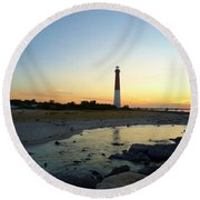 Center Stage Round Beach Towel