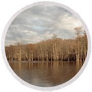 Champion Lake Round Beach Towel