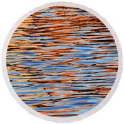 Charles Reflections Round Beach Towel