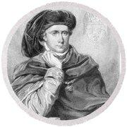 Charles Vi (1368-1422) Round Beach Towel