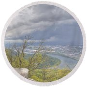 Chattanooga Valley Round Beach Towel
