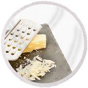 Cheese Grater Round Beach Towel