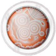 Chemical Waves In Bz Reagent 6 Of 9 Round Beach Towel