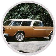 Chevrolet, 1957 Round Beach Towel