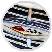 Chevrolet Emblem Round Beach Towel