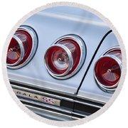 Chevrolet Impala Ss Taillight Round Beach Towel