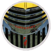 Chevrolet Shine Round Beach Towel