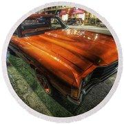 Chevy Impala Round Beach Towel