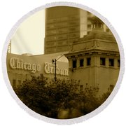 Chicago Impressions 7 Round Beach Towel