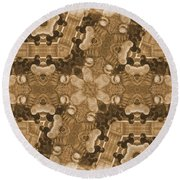 Chick Here - Chick There  Everywhere A Chick Chick 2 Round Beach Towel