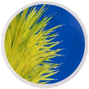 Chihuly Glass Tree Round Beach Towel
