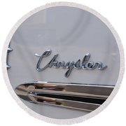 Chrysler Round Beach Towel