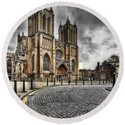 Church Of England Round Beach Towel