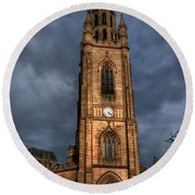 Church Of Our Lady - Liverpool Round Beach Towel