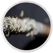 Cigarette Round Beach Towel