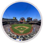 Citifield Round Beach Towel