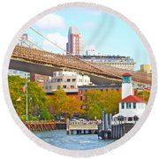 City View Three Round Beach Towel