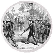 Civil War: 39th Regiment Round Beach Towel