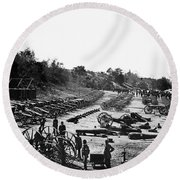 Civil War: Artillery Round Beach Towel