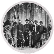 Civil War: Mathew Brady Round Beach Towel