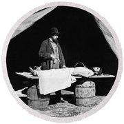 Civil War: Surgeon Round Beach Towel