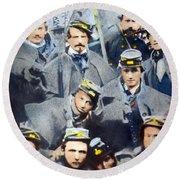 Civil War: Volunteers, 1861 Round Beach Towel