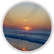 Cloud Hugger Round Beach Towel