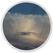 Cloud Softness Round Beach Towel
