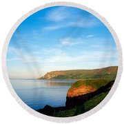 Co Antrim, Glenariff Or Waterfoot Round Beach Towel