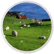 Co Cork, Beara Peninsula Round Beach Towel