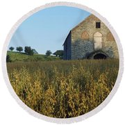 Co Derry, Limavady, Roe Valley Country Round Beach Towel