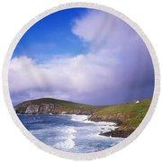 Co Kerry - Dingle Peninsula, Dunmore Round Beach Towel
