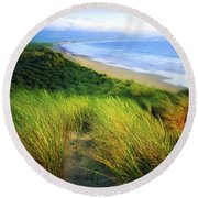 Co Kerry, Castlegregory Sandunes Round Beach Towel