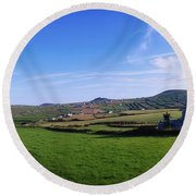 Co Kerry, Dingle Peninsula, Dunquin Round Beach Towel